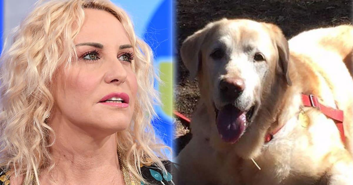 """""""Per me sei stato il primo figlio"""": il dolore di Antonella Clerici per la morte del suo cane Oliver"""