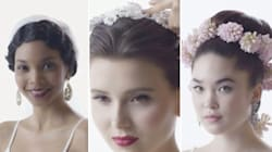 100 Years Of Wedding Hair In 4