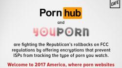 Da oggi per proteggere i nostri dati Pornhub e Yourporn dichiarano guerra a