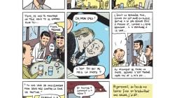 L'anecdote improbable entre Depardieu et Poutine racontée en BD par Mathieu