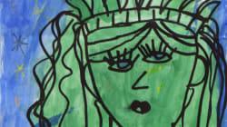 La peinture de cette élève de CP exposée au MET ressemble à un