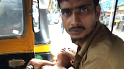 Help Is Pouring In For Mumbai Auto Driver With Paralysed Wife, Forced To Drive Around All Day With Toddler In His