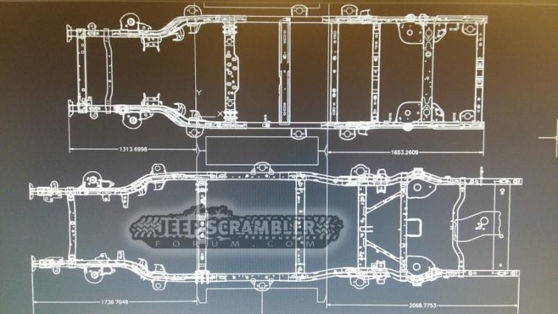 Thumbnail - Jeep Wrangler-based Scrambler pickup will have open tops, longer frame