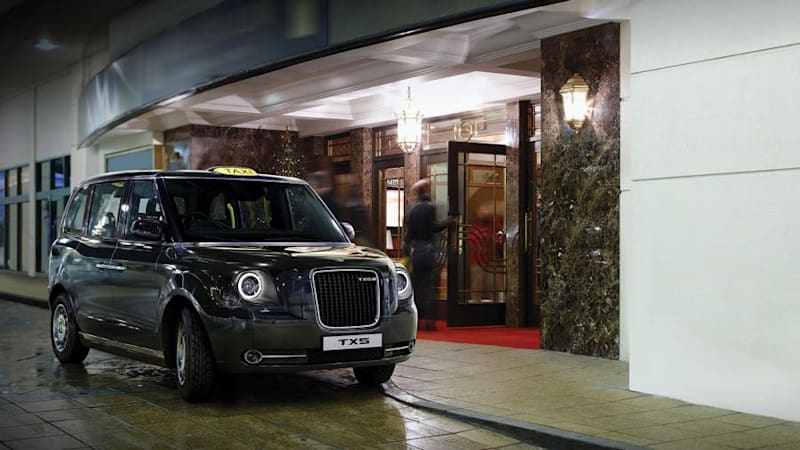 London S New Taxi Tx5 Goes Electric