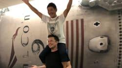 Yusaku Maezawa va devoir s'entraîner pour faire du touriste lunaire et voilà à quoi ça pourrait