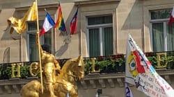 Gay Pride: Des militants interpellés pour avoir cagoulé la statue de Jeanne d'Arc, la marche