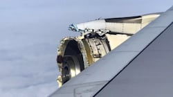 Air France Flight's Blown Engine Forces Emergency Stop In