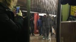 On a peut-être eu du verglas, mais le métro n'a pas été