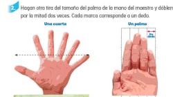La SEP corrige la mano de seis dedos, pero solo en la versión