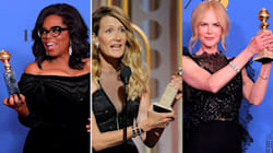 Golden Globes 2018: Nicole Kidman, Laura Dern And Oprah Winfrey Deliver Rousing Speeches About Female