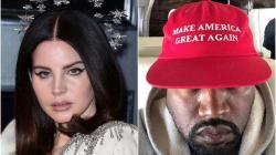 Lana Del Rey Slates Kanye West After Latest Pro-Trump Instagram