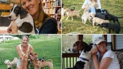 Acoger a 136 perros me ha enseñado mucho de animales, pero más de
