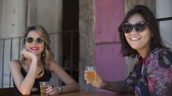 Dia 86: Camila e Nathália e a mesa de