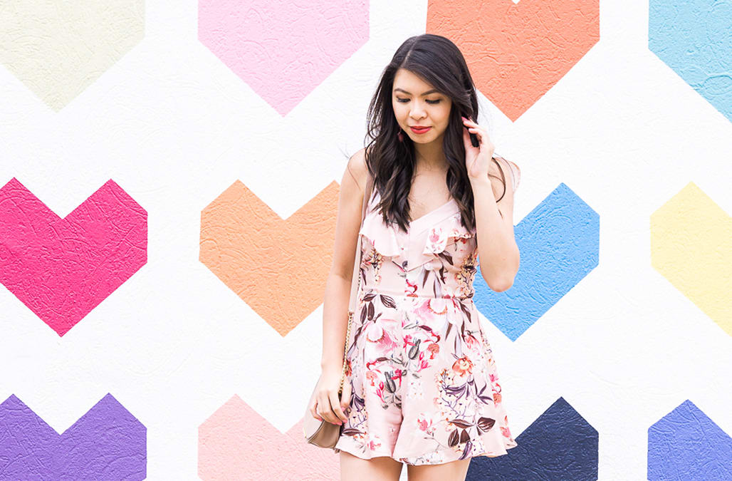 c6fd5040f49c Street style tip of the day: Floral romper - AOL Lifestyle
