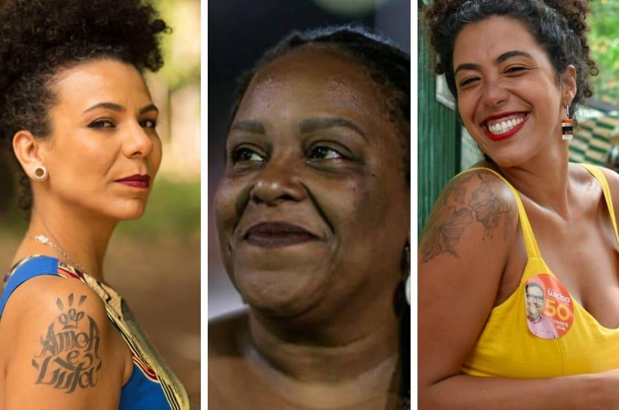 Áurea Carolina, Mônica Francisco e Talíria Petrone foram mulheres eleitas em Minas Gerais e Rio de Janeiro, respectivamente.