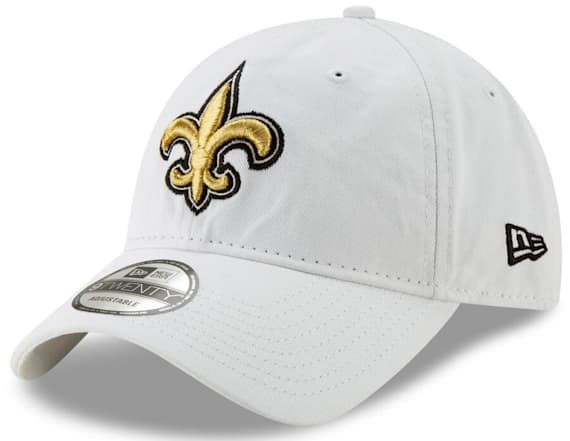 Crisp, classic white NFL hats are perfect for summer