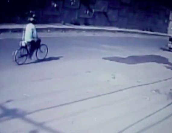Terrifying video shows truck crush driver to death