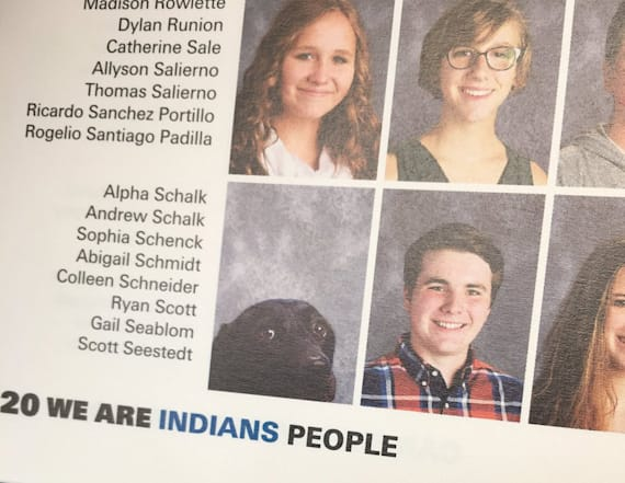 Service dog gets his own photo in school yearbook
