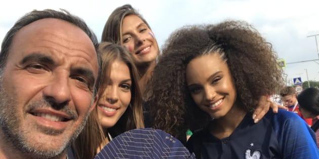 Omar Sy, Teddy Riner, les Miss France, Nikos... Les people étaient à Moscou pour voir les Bleus devenir champions du monde