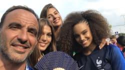 Omar Sy, Teddy Riner, les Miss France... Les people étaient à Moscou pour voir les