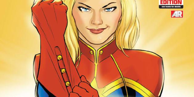 Les premières images de Brie Larson dans son costume de Captain Marvel