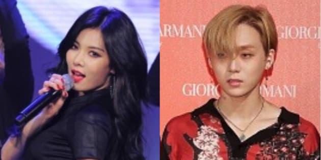 k pop歌手ヒョナと pentagon イドンが熱愛 事務所は謝罪 なぜ