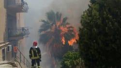 Le fiamme minacciano Sciacca: evacuate 40 famiglie. Continua l'emergenza incendi al