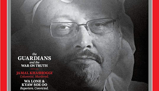 'The Guardians' For Truth Named Time Magazine's 2018 Person Of The