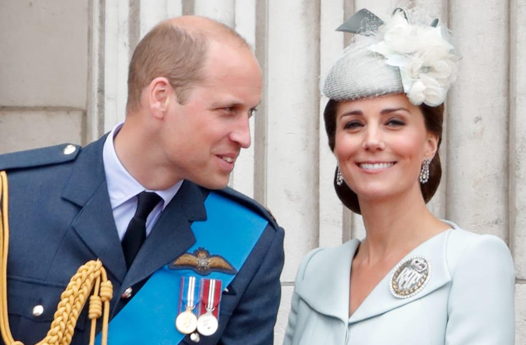 Prince William jokes Kate Middleton is 'jealous' of his ...