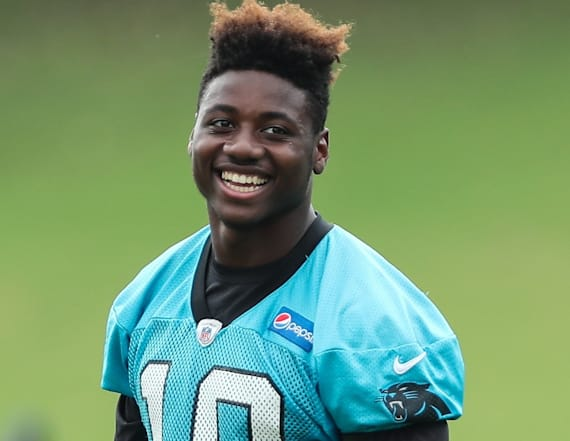 NFL rookie got dropped off at camp by his mom