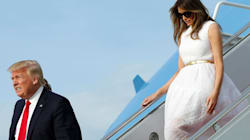 Etiquette Experts Weigh In On Trump's Awkward Walking Distance From