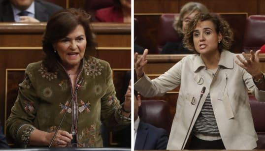 Calvo vs. Montserrat: los delirantes 'cara a cara' de los