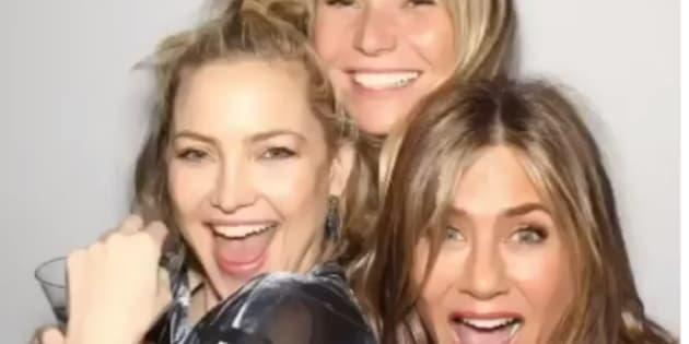 Jennifer Aniston célébrait ses 50 ans avec ses amies Kate Hudson et Gwyneth Paltrow.