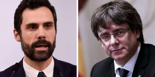 Torrent y Puigdemont