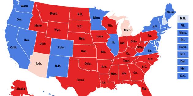 Pour la quatrième fois dans l'histoire des Etats-Unis, les grands électeurs vont choisir un président que le peuple n'a pas désigné majoritairement.