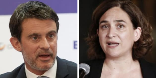Valls y Colau