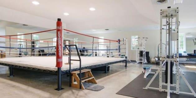 La salle de boxe de Mohamed Ali.
