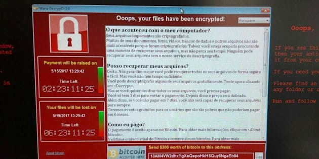 74 países foram atingidos por ciberataque.