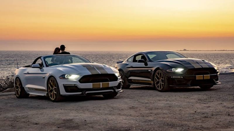 Car Rental Compare >> 2019 Shelby GT Ford Mustang revealed with 480 horsepower - Autoblog