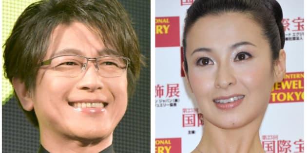 離婚を発表した及川光博さん(左)と檀れいさん