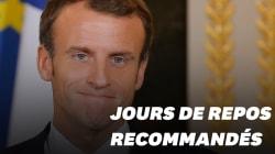 Suffit-il de s'arrêter quelques jours comme Macron pour se