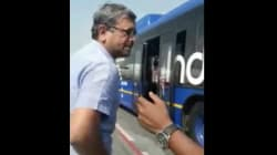 Shocking Video Shows IndiGo Staff Members Pinning Passenger To The Ground, Govt Starts