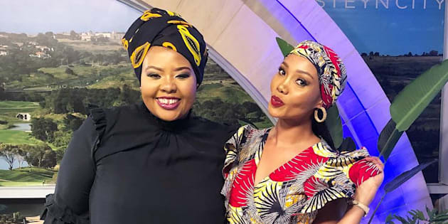 Anele Mdoda and Azania Mosaka.