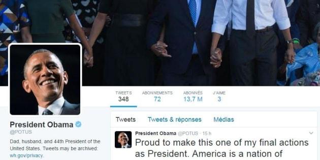 Les comptes Twitter de la Maison Blanche ont changé de proprios.