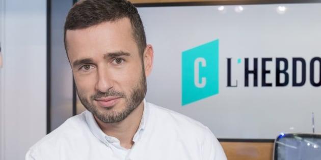 """Julien Bellver devient red chef médias de """"Quotidien"""", il aura sa chronique en plateau."""