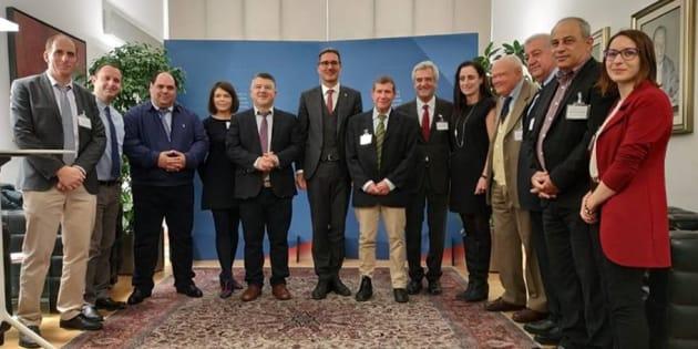 Ebrei e arabo palestinesi a Bolzano per studiare l'esperienz