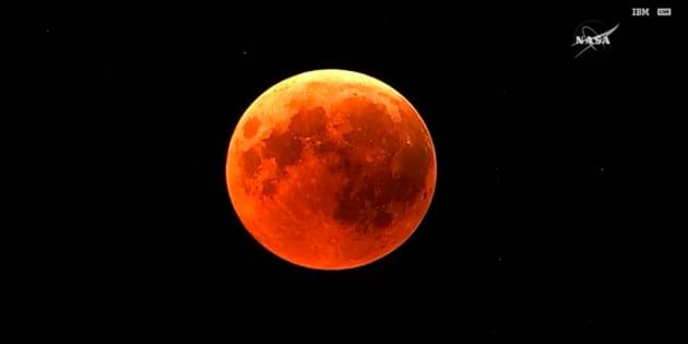 L'éclipse lunaire a fait de nombreux mécontents sur les réseaux sociaux.