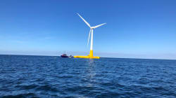 Pour la première fois en France, une éolienne produit de l'électricité en