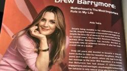 La entrevista falsa que le hizo una revista de Egipto a Drew Barrymore que se