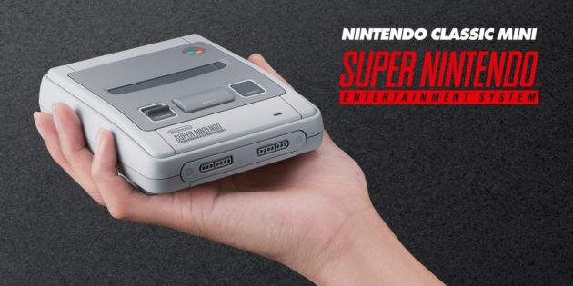 Après la NES Mini, Nintendo dévoile la Super Nintendo Classic, sa nouvelle console rétro